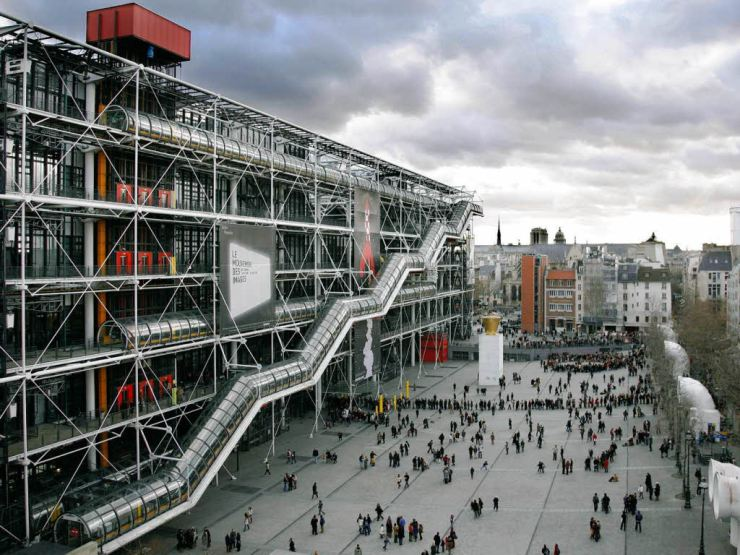 Centre-Pompidou-Paris-Outside