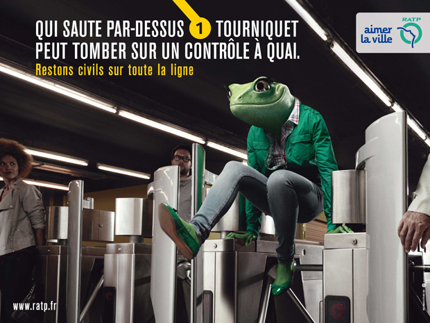 RATP adverting 3