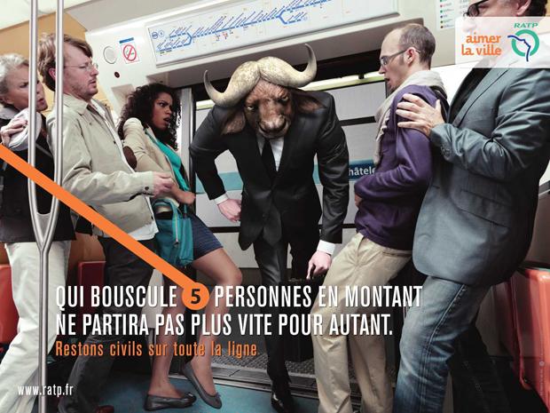 RATP advertising 1