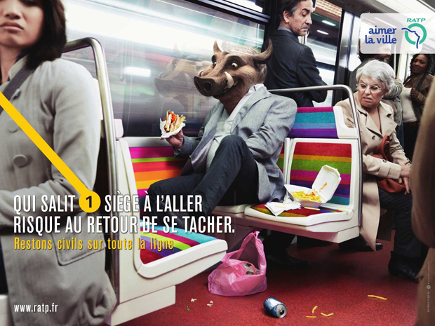RATP advertising 2