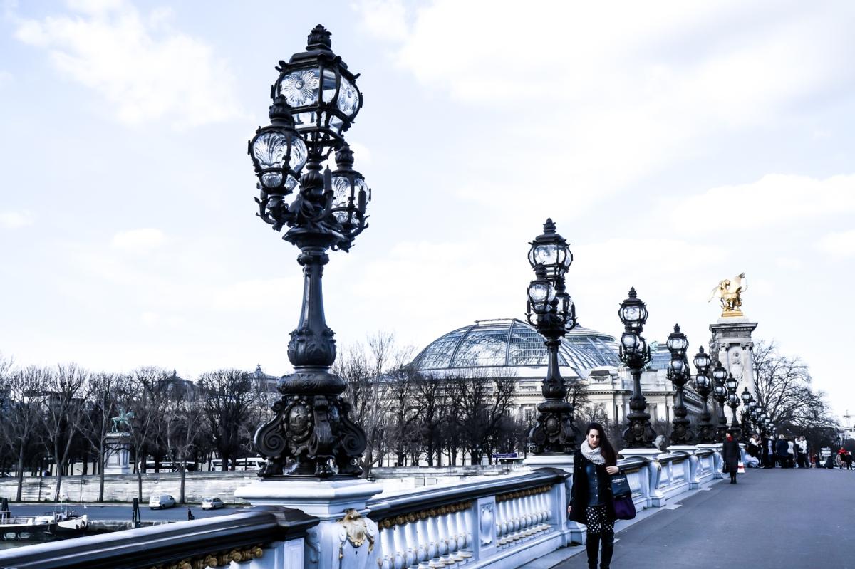 Μια Ελληνίδα στο Παρίσι