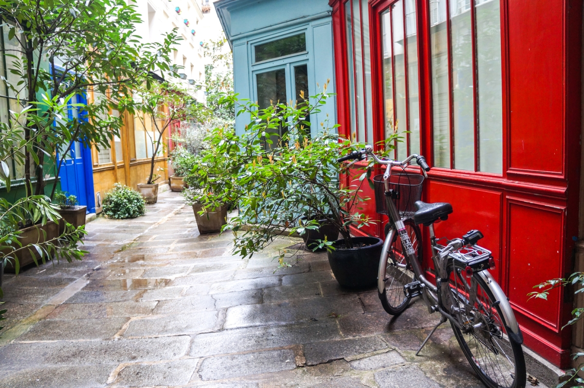 Passage de l' Ancre: Ενα πολύχρωμο κρυφό δρομάκι
